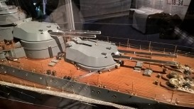 One of the lifelike models on display at the Jutland exhibit. (Image Source: Scott Addington)