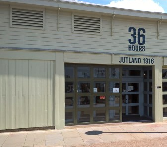 The exhibit is housed in its own building in the heart of the Portsmouth Historic Dockyard. (Image Source: Scott Addington)