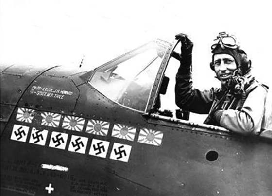 One of the Tigers' best aces, Him Howard, would go on to fight in Europe, where he'd rack up additional kills against pilots of the Third Reich.