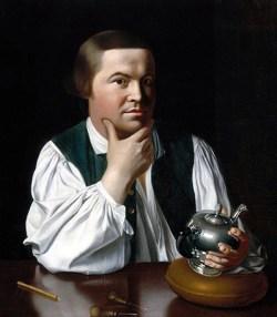 Paul Revere. (Image source: WikiCommons)