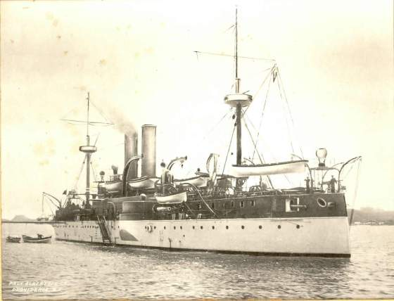 The USS Maine. (Image source: WikiCommons)
