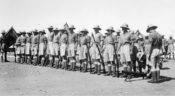 After 1919, Western European troops became ever-present in the Middle East.