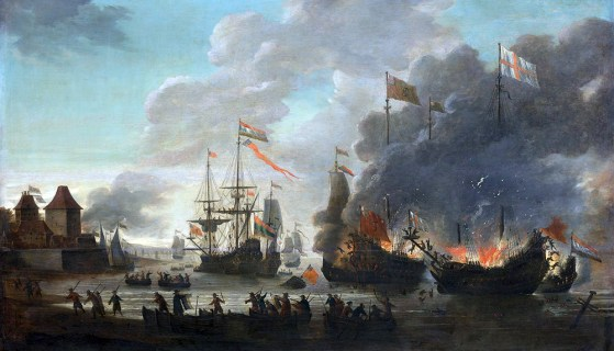 The Medway Fiasco – How Dutch Raiders Dealt England One of Its Worst Naval Defeats in History