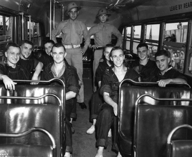 German POWs were held at Camp Blanding in Florida.