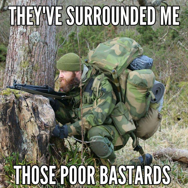 Modern Viking Military Humor