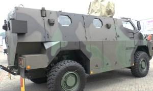 Indo Def 2016: Thales and PT.Pindad Sanca 4x4 MRAP