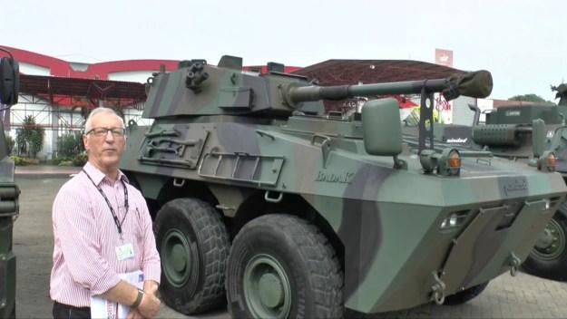 PT.Pindad Badak Direct Fire vehicle