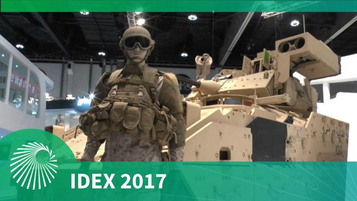 IDEX 2017: BA Systems' M2A3 Bradley IFV