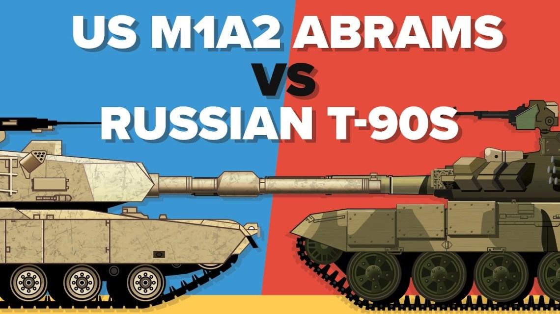 US M1A2 Abrams vs Russian T-90S