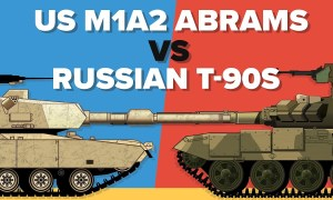 US M1A2 Abrams vs Russian T-90S