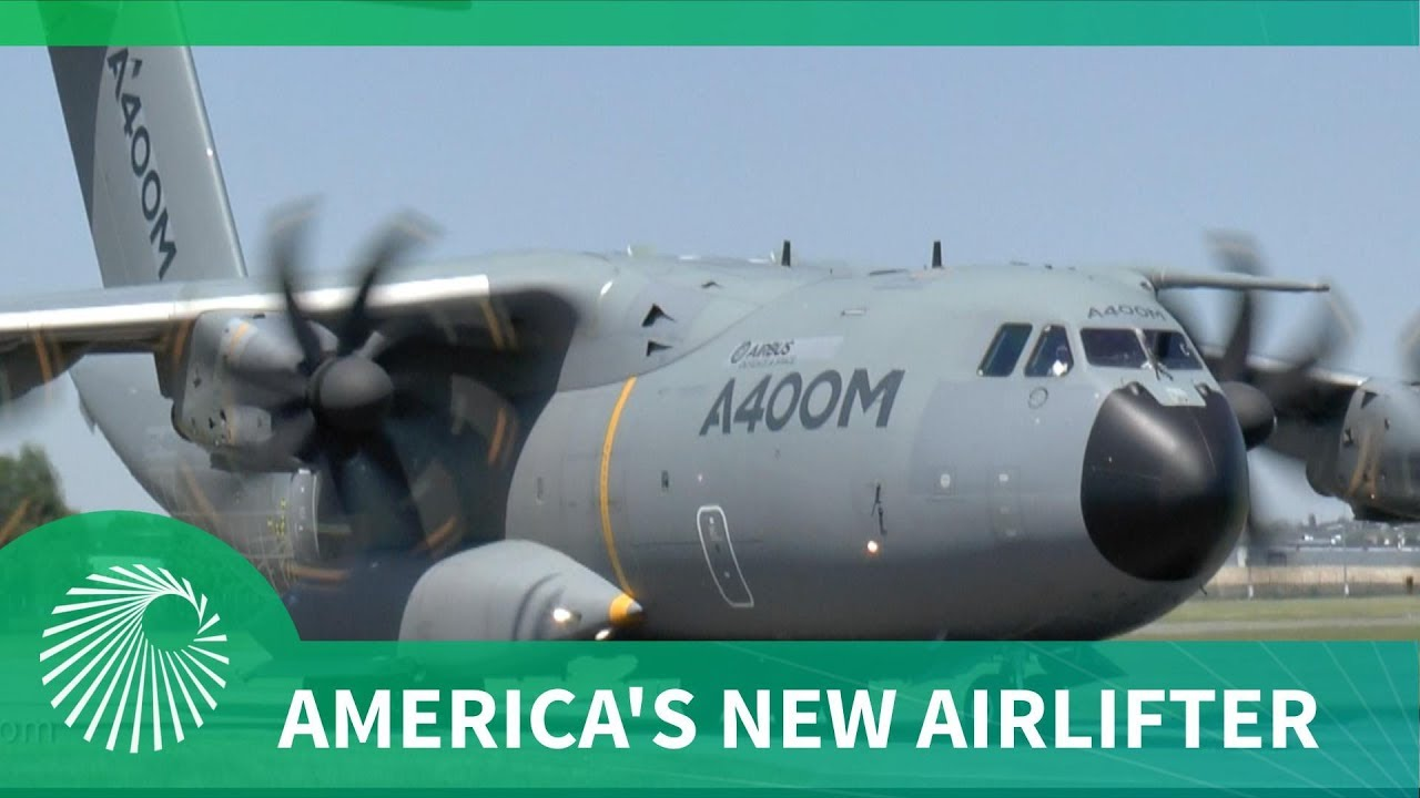 America's Future Airlifter - The European A400M