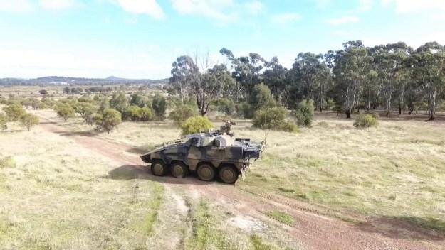 Land 400 CRV contenders live firing