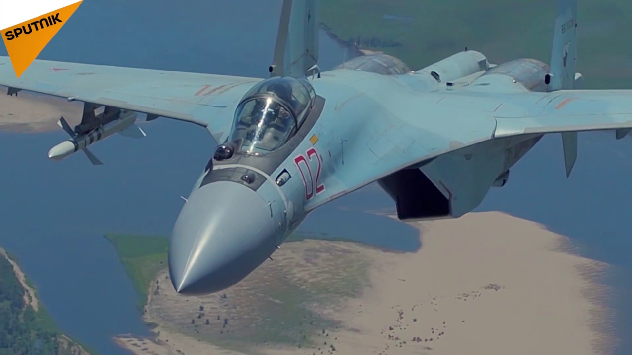 Russian SU-35S Fighter Jet Enters Service