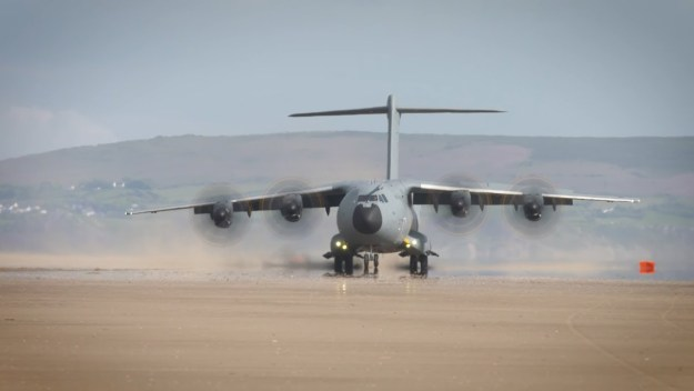 A400M Beach Operations