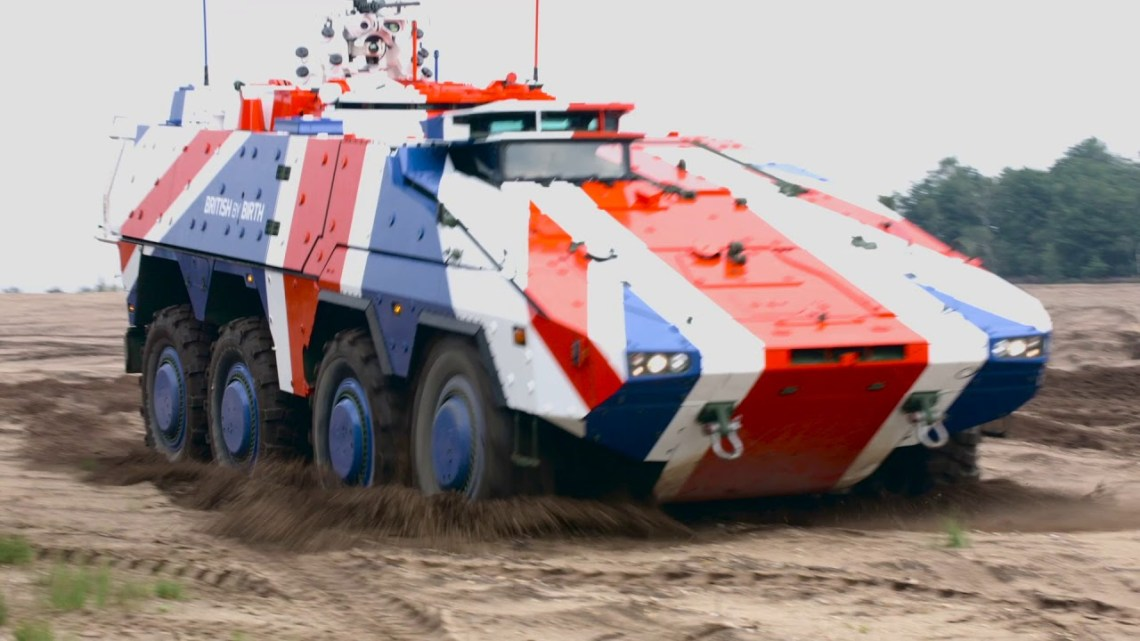 British Army's Boxer Mechanised Infantry Vehicle (MIV)