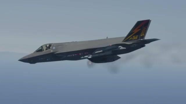 F-35B Airborne Gunfire Testing Complete