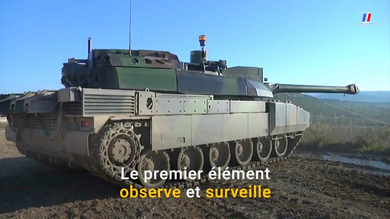 Leclerc Main Battle Tanks Combat Team