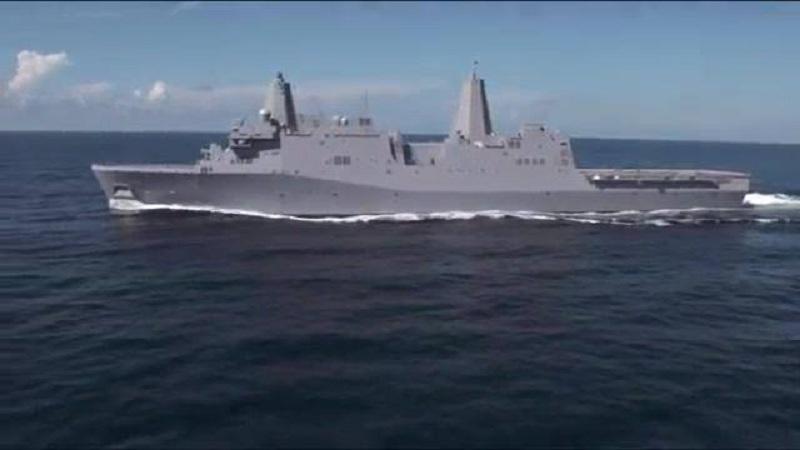 USS Portland (LPD-27) Acceptance Sea Trials