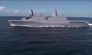 USS Portland (LPD-27) Acceptance Sea Trials
