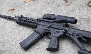 RS556 5.56mm assault rifle review Rheinmetall Steyr candidate to replace G36 German army Bundeswehr