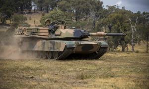 Australian M1A1 Main Battle Tank
