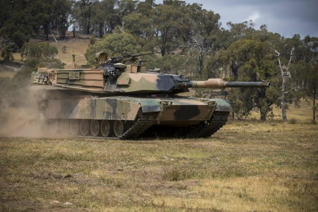 Australian M1A1 Main Battle Tank