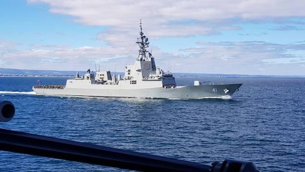 HMAS Brisbane (DDG 41) Air Warfare Destroyer