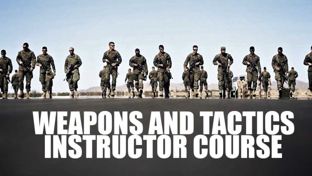 Inside Marine Weapons and Tactics Instructor Course