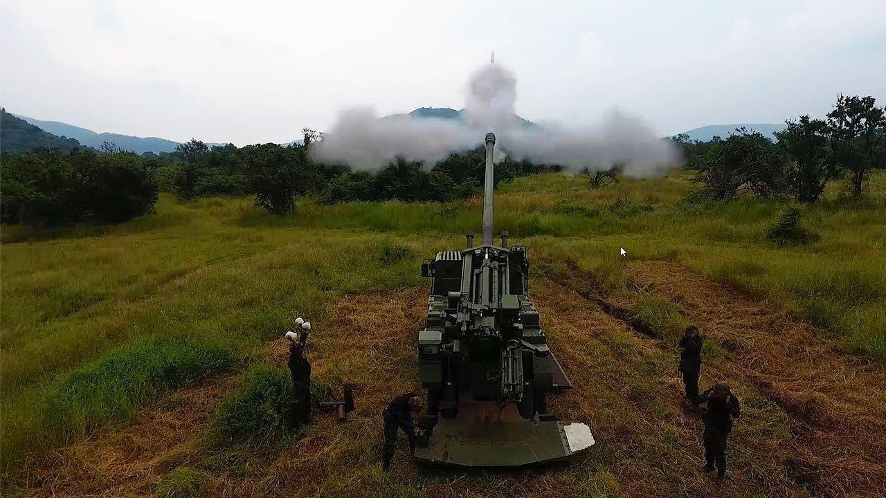 Royal Thai Army CAESAR 155 Self-propelled Howitzer (SPH)