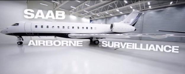 SAAB Airborne Surveillance System