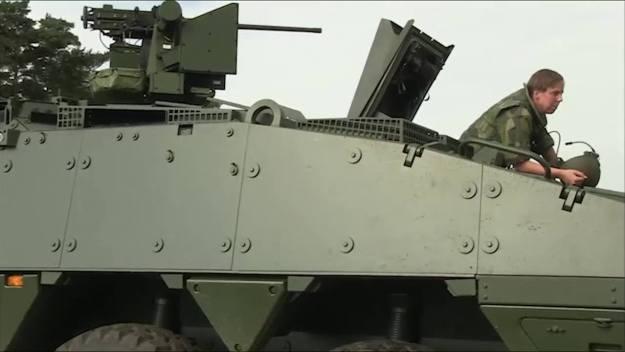Swedish Patria AMV (Armored Modular Vehicle)