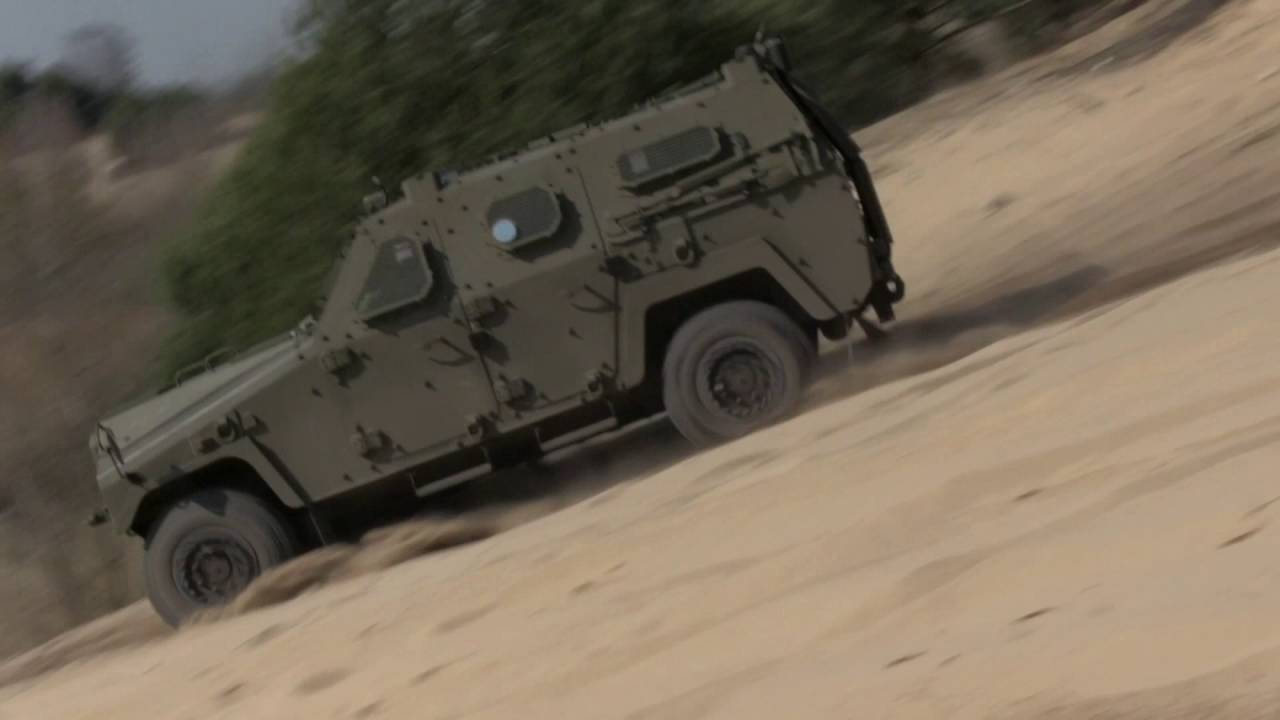 Kerametal Aligator Master II 4x4 Multirole Armoured Vehicle