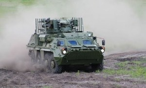 BTR-4E wheeled armoured vehicle personnel carrier