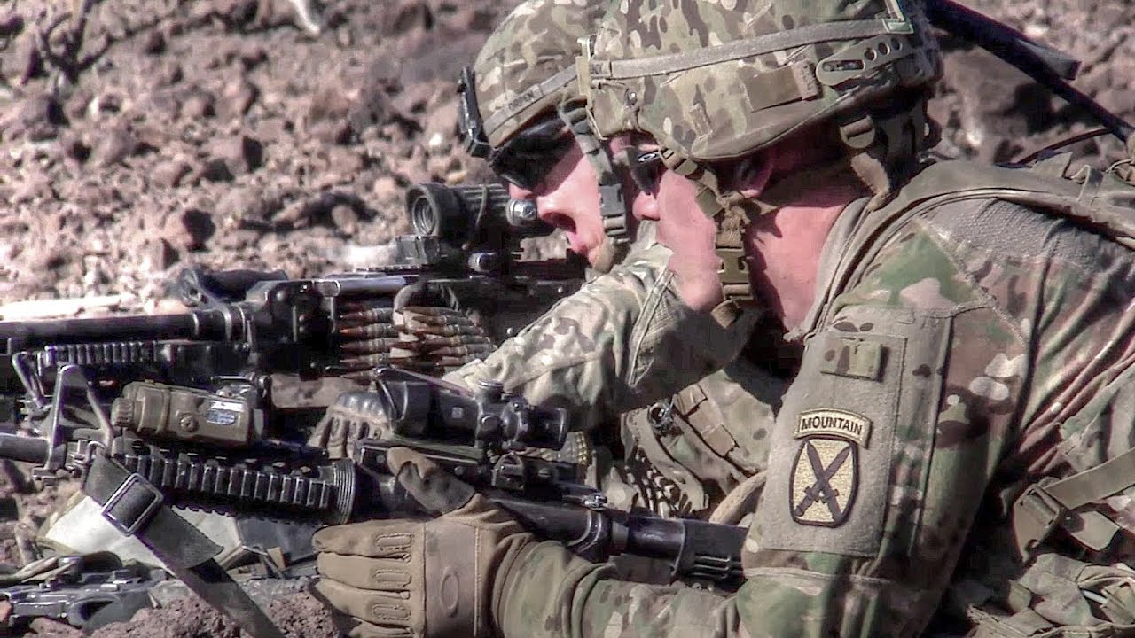 East Africa Response Force (EARF) Soldiers Conduct Routine Live-Fire Training