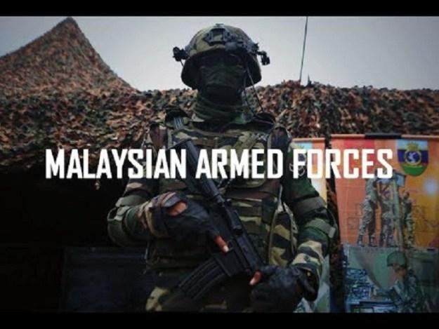 Malaysian Armed Forces – Amphibious Beach Landing