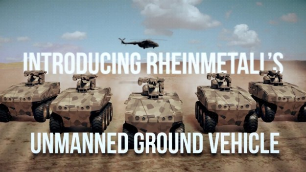 Rheinmetall Unmanned Ground Vehicle (UGV)