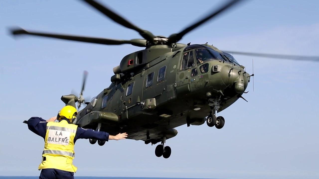 Leonardo AW101 medium-lift helicopter