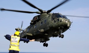 Leonardo AW101 medium-lift helicopter
