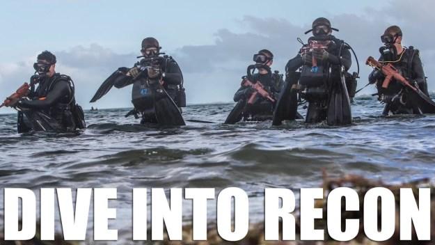 Combatant Dive Training | Reconnaissance Marines