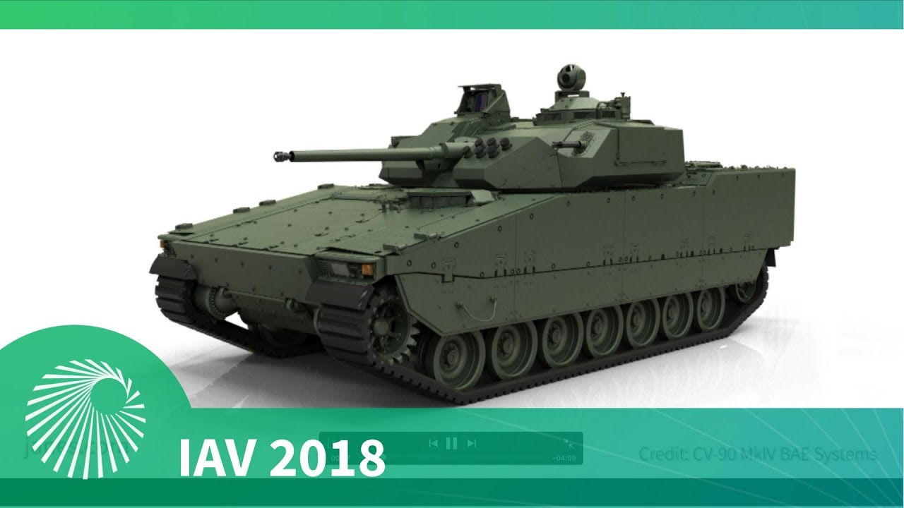 IAV 2018: BAE Systems introduce CV90 MkIV