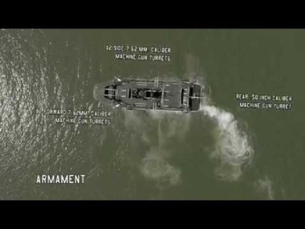 M10 Riverine Assault Boat built by Marsun Shipyard Thailand