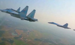 PLAAF sends Su-35 fighter jets for South China Sea patrol