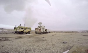 Russia tests TOR-M2DT Air-defense System