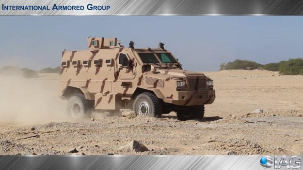 International Armored Group RILA MRAP