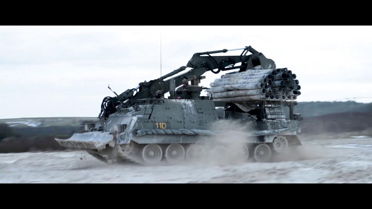 British Army Trojan Armoured Vehicle Royal Engineers