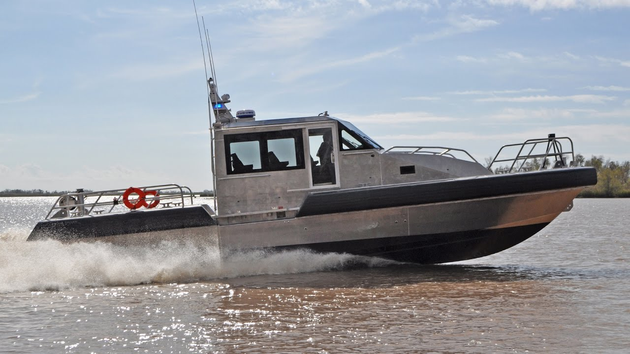 Metal Shark 45 Defiant Patrol Boat