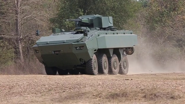 DTI Amphibious Armored Personal Carrier (AAPC)