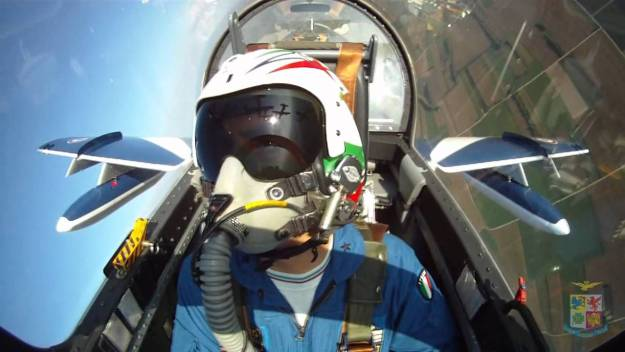 Frecce Tricolori Aerobatic display team
