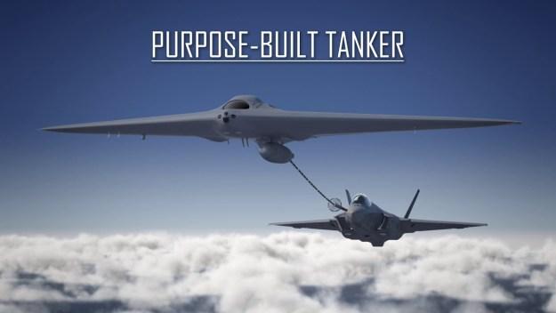 Lockheed Martin Skunk Works Reveals MQ-25 'Stingray'