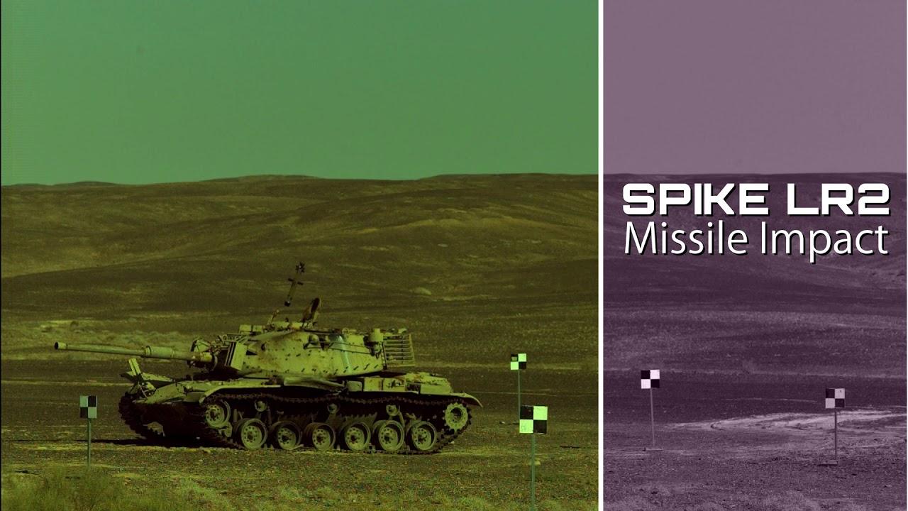 RAFAEL's Spike LR2 Missile